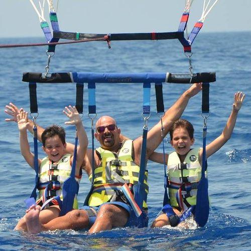 barra para parasail triple