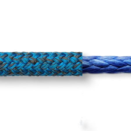 escota / de driza / doble trenzada / para velero