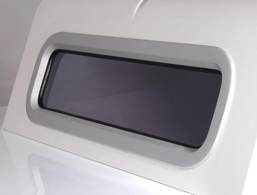 portillo rectangular / para barco / con bordes redondeados