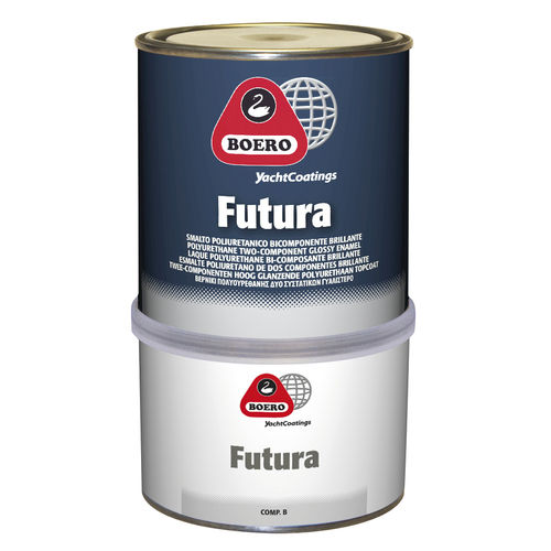 pintura para embarcación de recreo / acrílica / de poliuretano / bicomponente