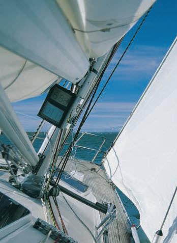 botavara para velero / para mástil con enrollador
