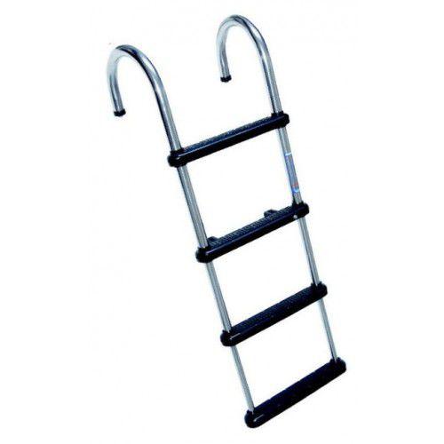 escalera de baño / para pantalán / de culata 180° / manual