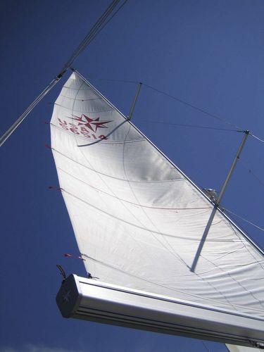 botavara para velero / enrollador