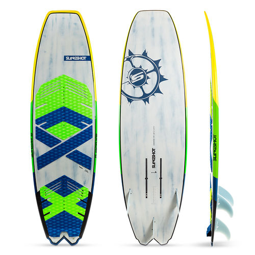tabla de kitesurf surf / con foil / allround / de recreo