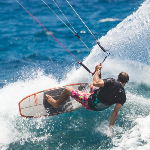 tabla de kitesurf surf