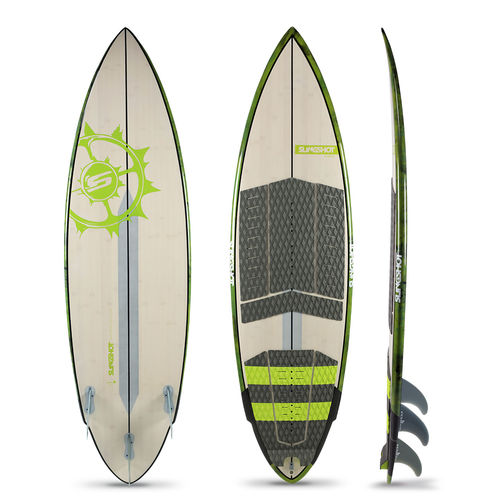 tabla de kitesurf surf / allround / tri fin