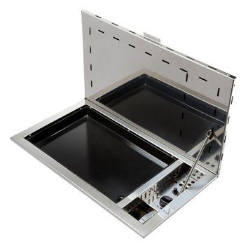 placa de cocina a gas / para barco / 1 quemador / empotrable