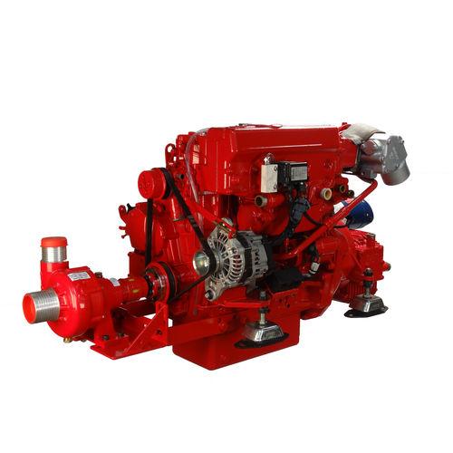 motor intraborda / para barco profesional / diésel / inyección directa