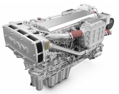 motor para buque diésel / turbo / common-rail / Tier 1