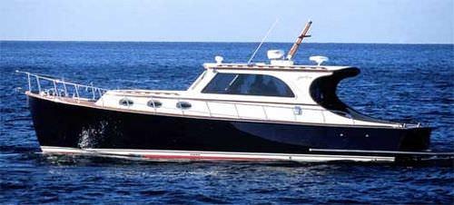 barco cabinado intraborda / lobster / con 1 camarote