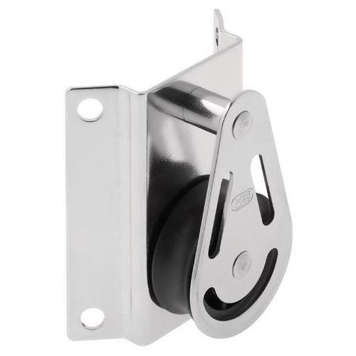 polea de reenvío / simple / con clavija fija / diámetro máx. del cabo: 8 mm