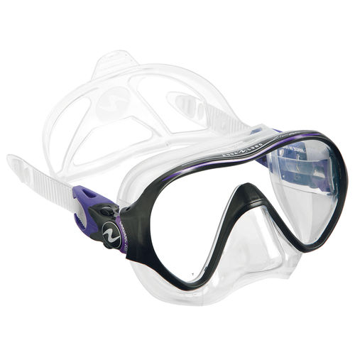 gafas de buceo de un cristal