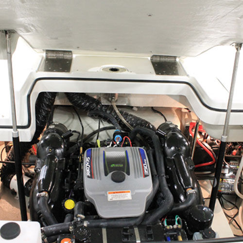 cilindro para barco / hidráulico / para escotilla
