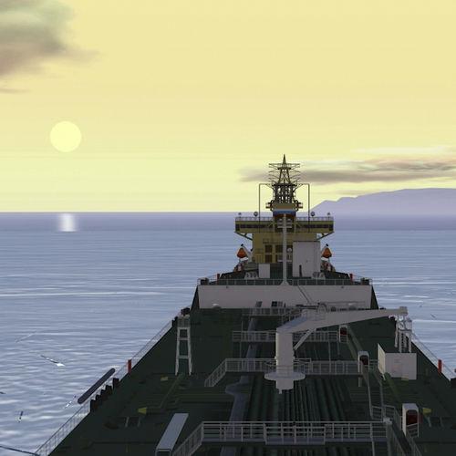 simulador de navegación / para buque