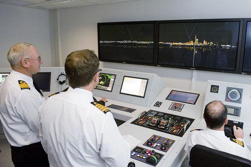 simulador para fuerza operativa naval