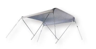bimini top para barco / para caseta del timón / estructura de aluminio