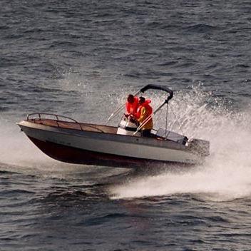 barco open fueraborda / con consola central / con consola lateral / open