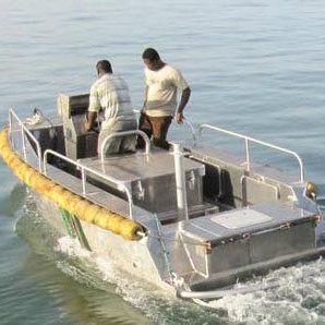 barco auxiliar de pesca / intraborda / diésel