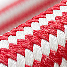 cuerda de amarre / dobles trenzadas / para buque / alma Dyneema®