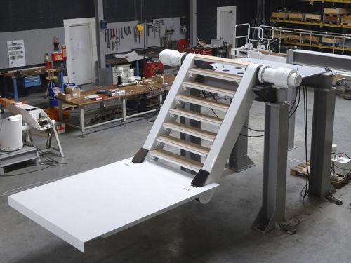plataforma para yate
