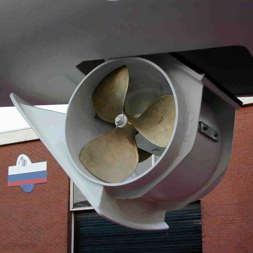 propulsor de proa / para superyate de vela / de túnel / retráctil