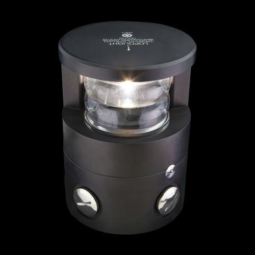 luz de navegación para buque / LED / blanca / para extremo de mástil