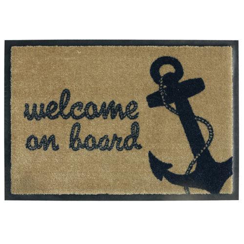 alfombra antideslizante / para barco / personalizada