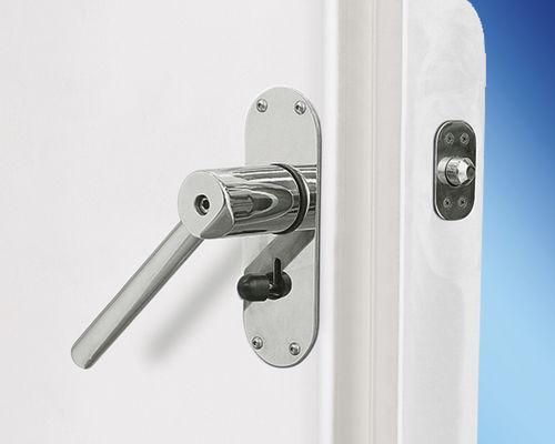 puerta para yate / semiestanca / de aluminio