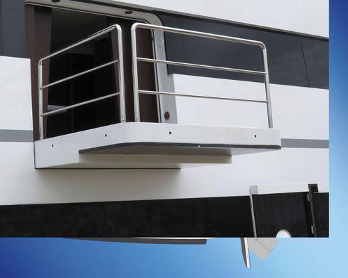 balcón para yate