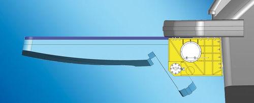 sistema hidráulico de popa / para yate / para barco