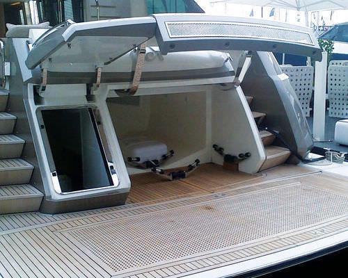 sistema hidráulico para garaje / para barco / para yate