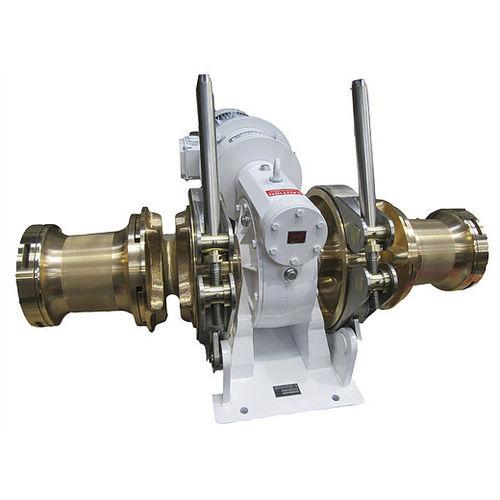 chigre para buque / para maniobrar anclas / de almacenaje / con motor hidráulico