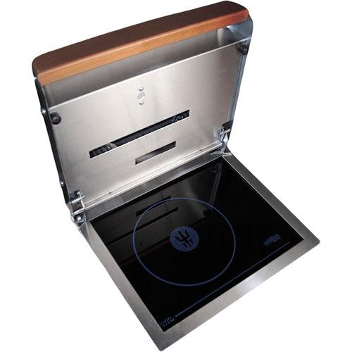 placa de cocina de diésel / para barco / 1 quemador