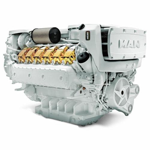 motor recreo / intraborda / diésel / common-rail