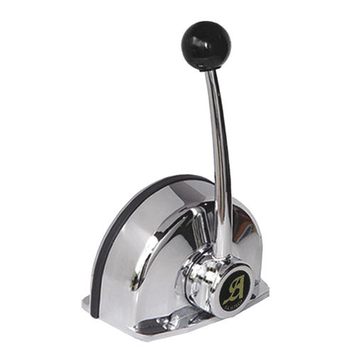 palanca de mando de motor / mecánica / con una sola palanca / para barco