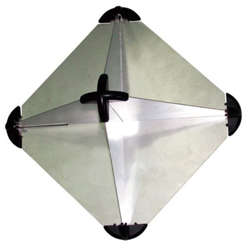 reflector radar para barco / tipo octaedro