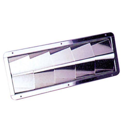 rejilla de ventilación para barco / de acero inoxidable