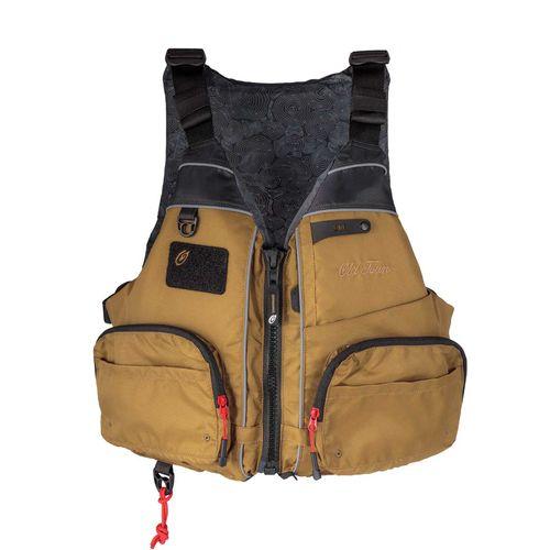 chaleco de ayuda a la flotabilidad para la pesca / para canoa y kayak / unisex / de espuma