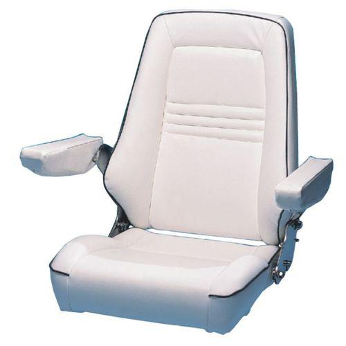 asiento piloto / para barco / con reposabrazos / 1 plaza