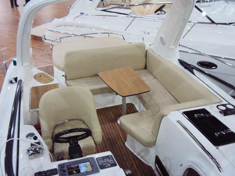 cojín de cockpit