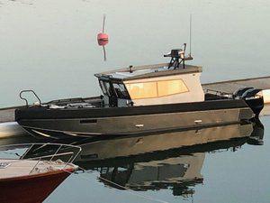 barco cabinado stern-drive / fueraborda / diésel / bimotor