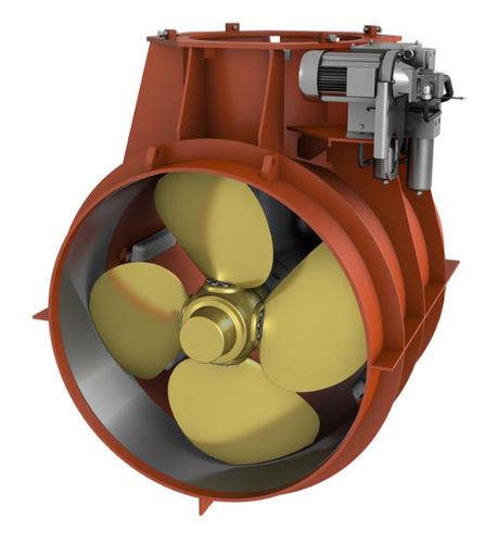 propulsor de proa / para buque / hidráulico / de túnel
