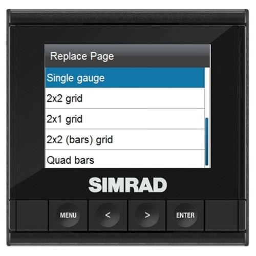 visualizador para barco / multiusos / digital / LCD