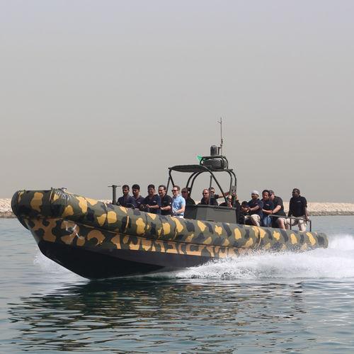 embarcación neumática hidrojet