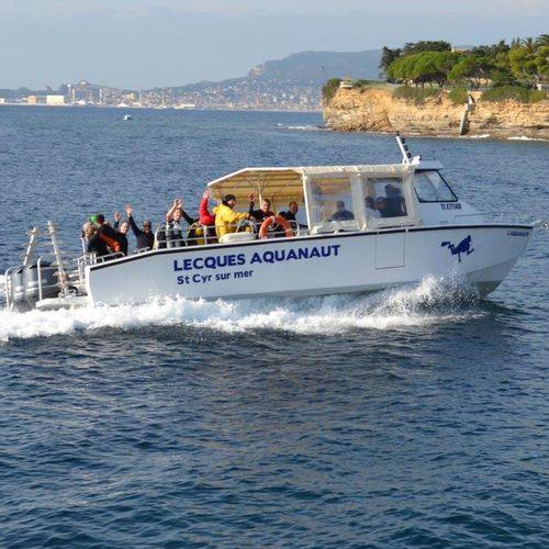 embarcación de apoyo al buceo / fueraborda / de aluminio