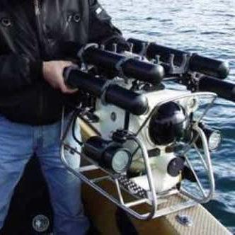 ROV submarino para inspección de pipelines