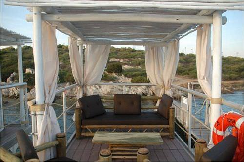 tejido para tapicería náutica decoración exterior / de PVC