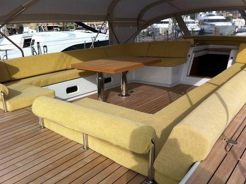 tejido para tapicería náutica decoración interior / de esponja