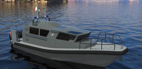 barco profesional barco de vigilancia / barco de trabajo / barco de pasajeros / barco de salvamento