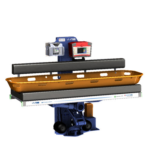 soporte para camilla para barco ambulancia / suspensión hidroneumática automática